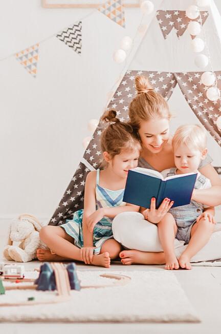7 Tips mágicos para que nuestros hijos amen la lectura