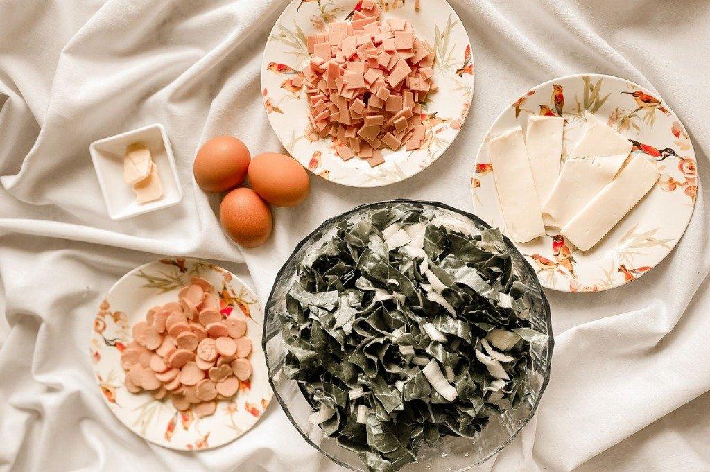 Torta de acelgas SIN HORNO, ingredientes,